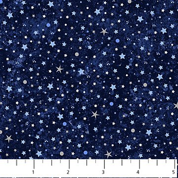 Out of this World Dark Blue Stars