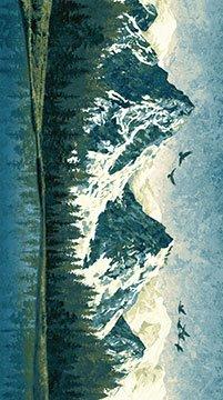 Linda Ludovico Mountain Wilderness 39378-46 Mountain Panel