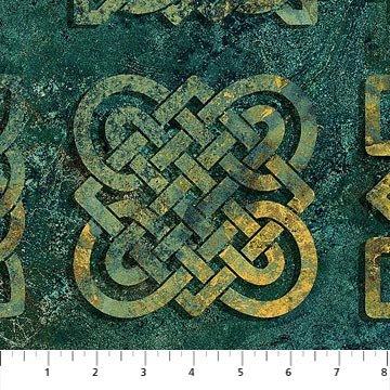 Stonehenge Solstice - Celtic Knot Teal 39428-69