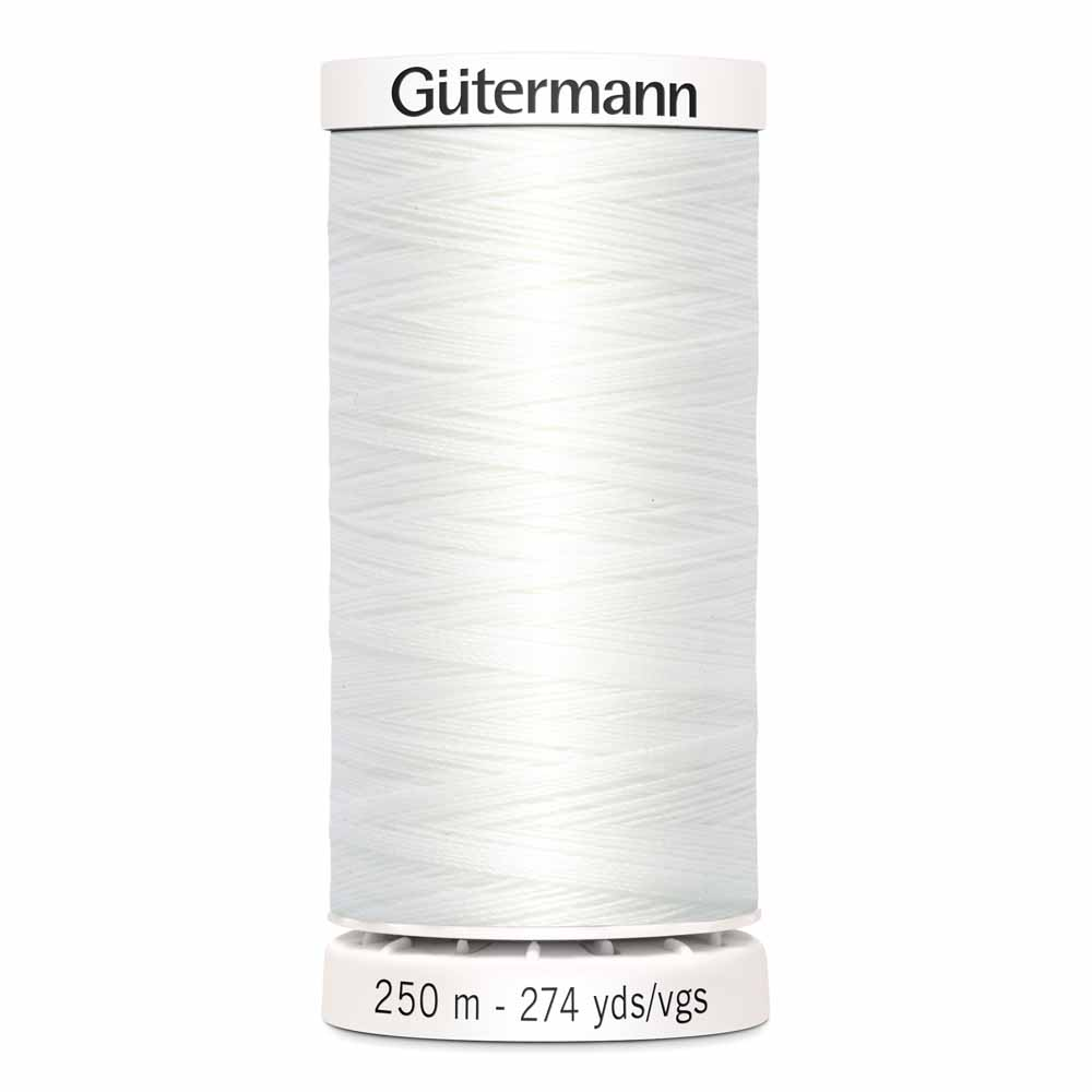 G�TERMANN Sew-all Thread 250m - Nu White