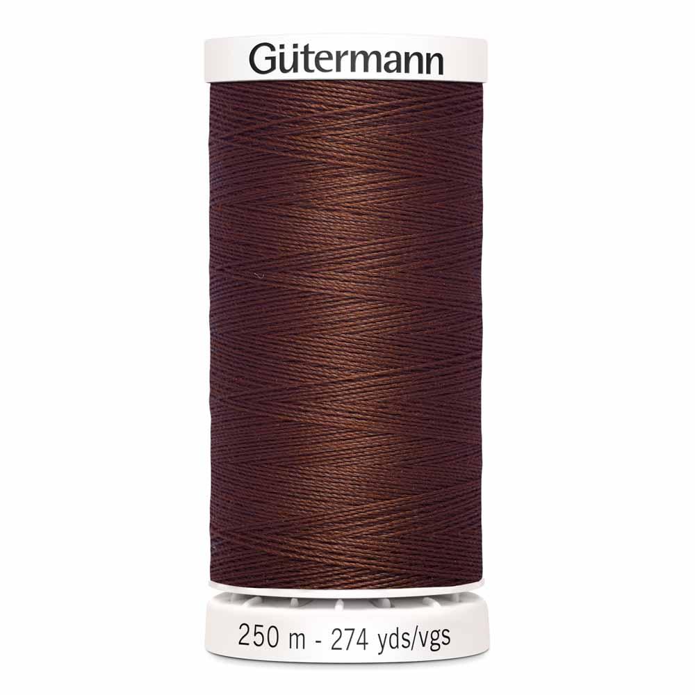 G�TERMANN Sew-all Thread 250m - Chocolate