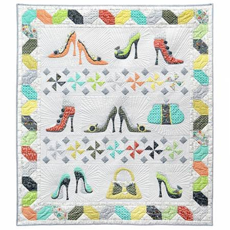 Kit Girl's Night Out Not Enough Shoes 50in x 58in