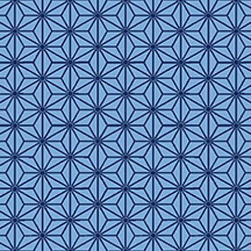 Quilters Basic Harmony Blue Stars