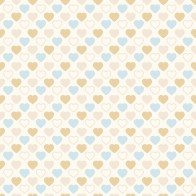 Quilters Basic White Hearts