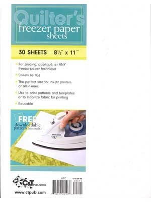 Freezer Paper 30 sheets