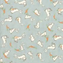 Darling Little Dickens - Puddle Green w/Rabbits & Carrots