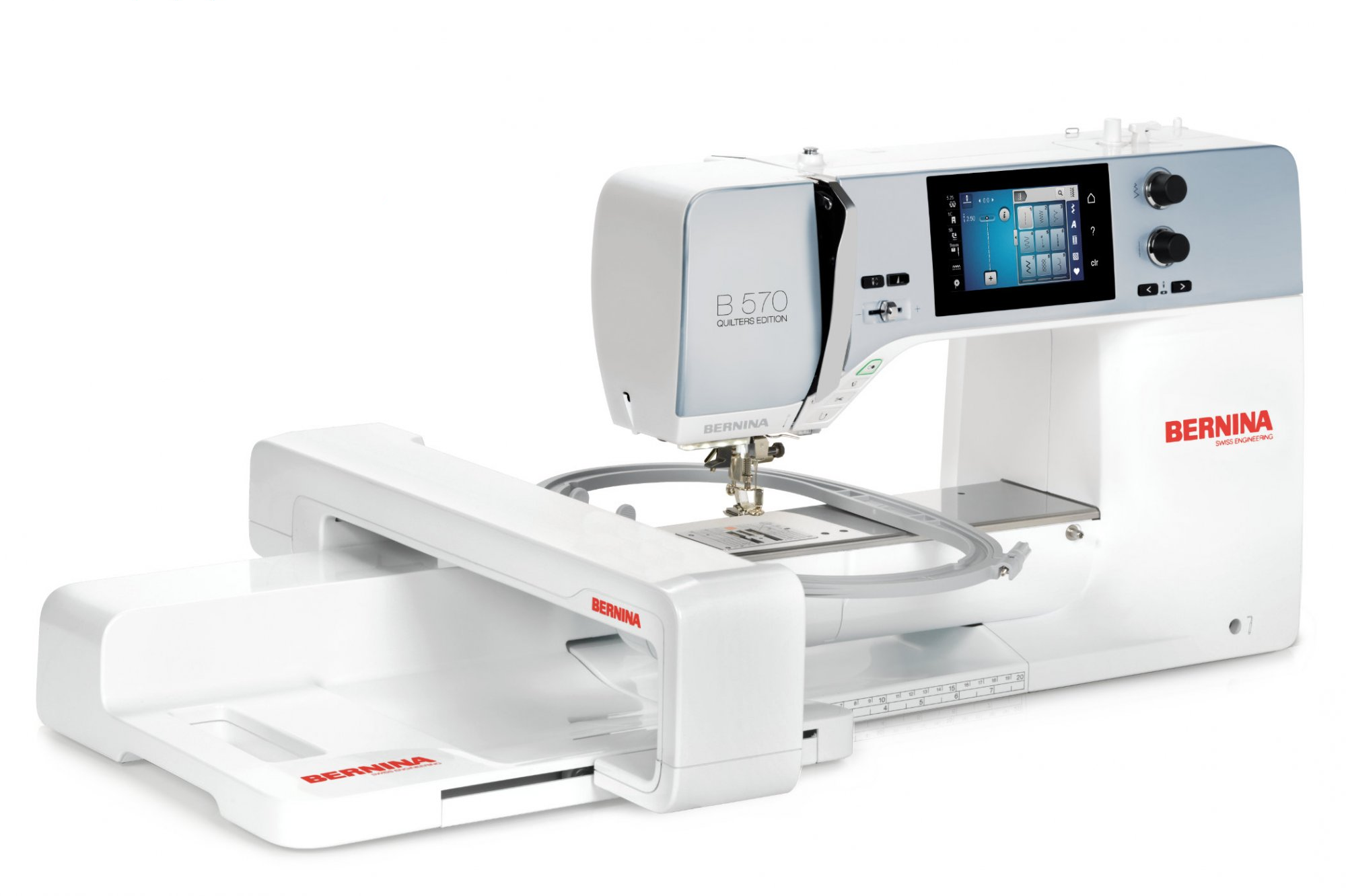 Bernina 570 New Quilters Edition Sewing Embroidery Machine  NEW
