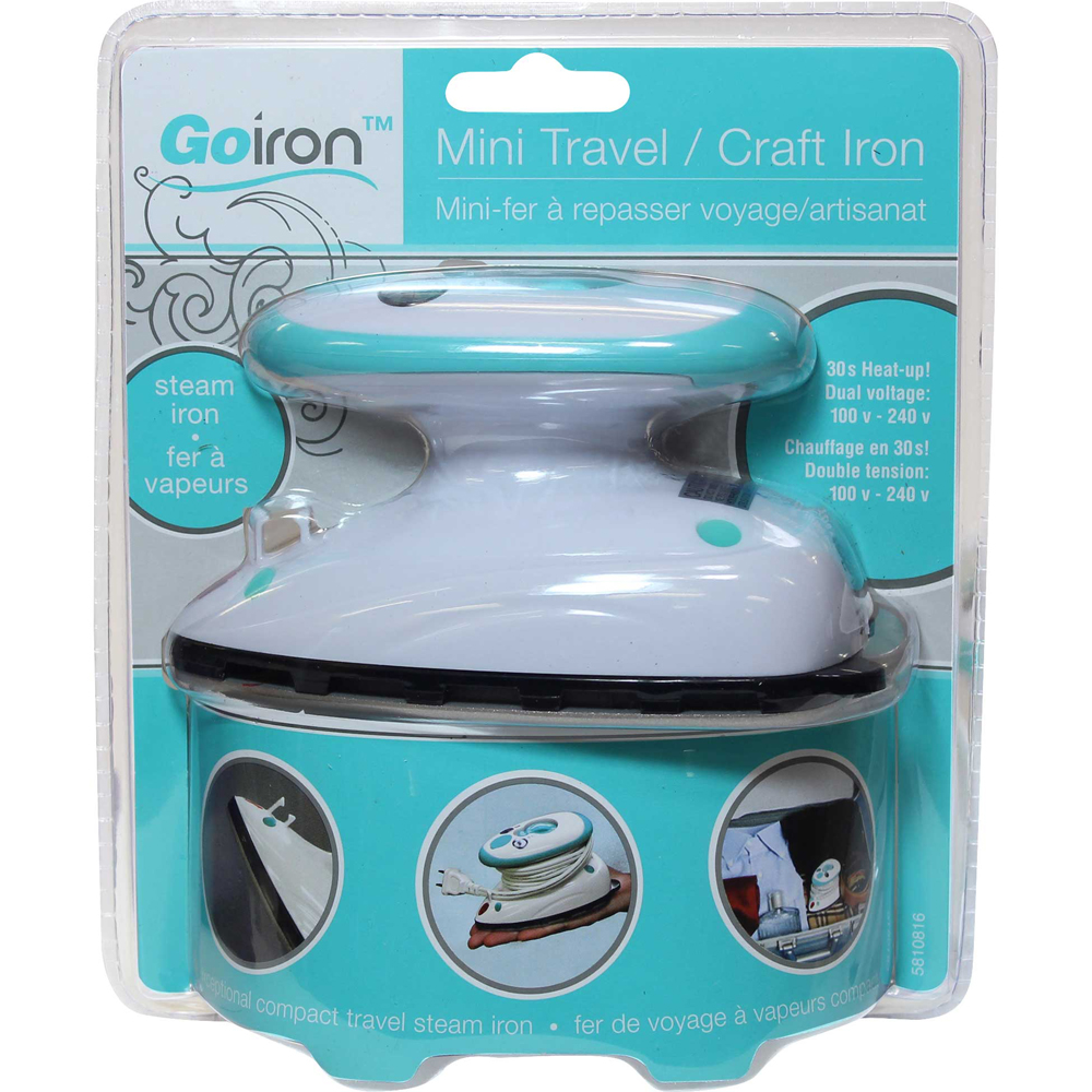 GO IRON Mini Travel / Craft Iron