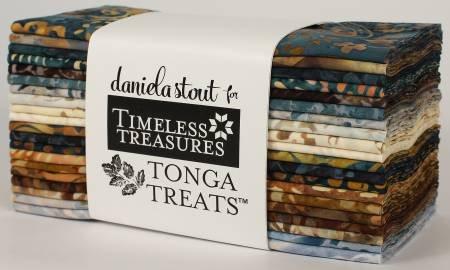 Tonga Batik Stonewash  - 6PACK-STON - 6in Strips 20pcs/pack