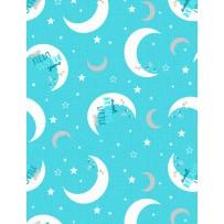 Sweet Dreams Teal Moons