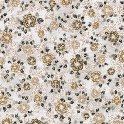 La Scala Floral sm Print Platinum