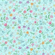 Tweet Me Aqua Flower