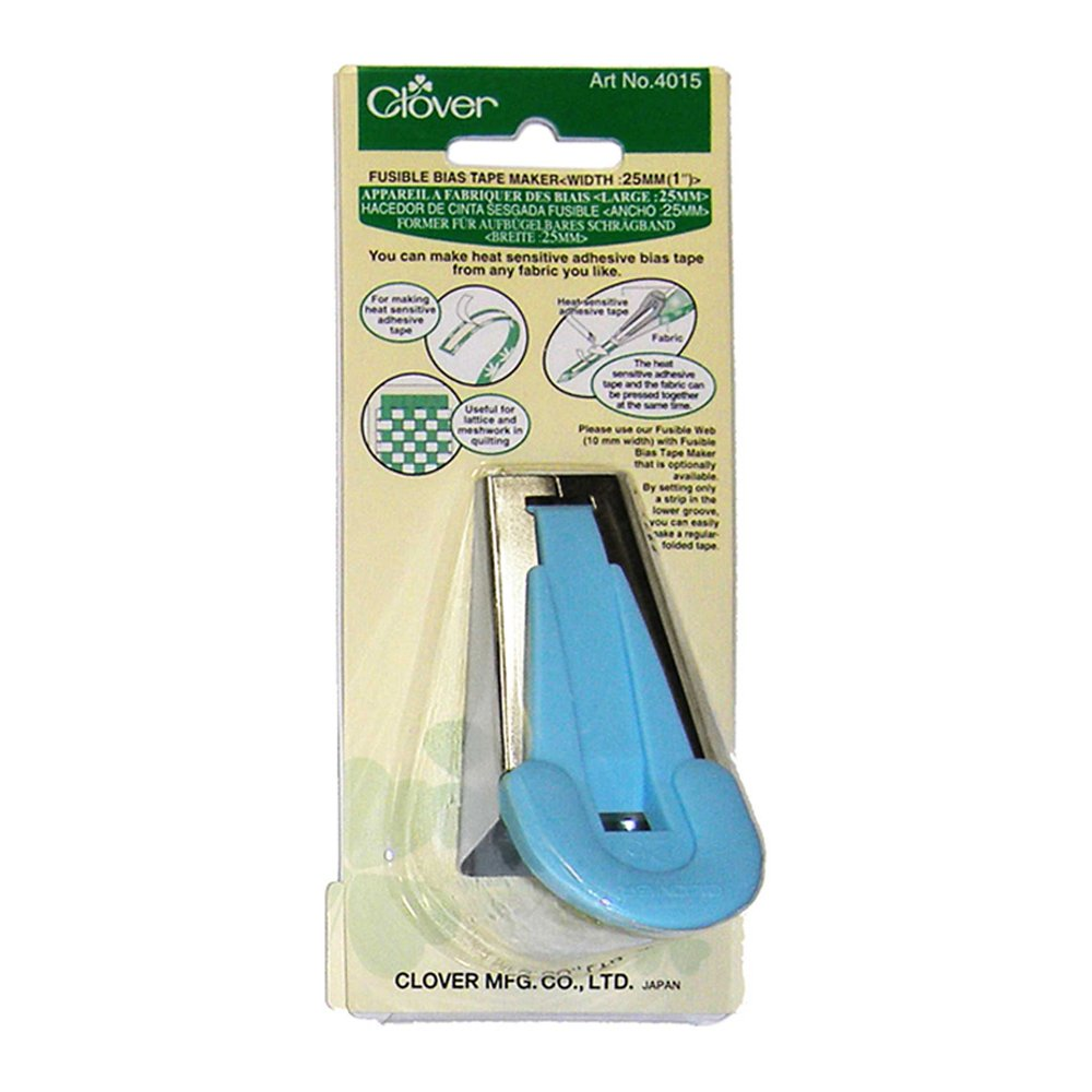 CLOVER 4015 - Fusible Bias Tape Maker - 25mm (1)