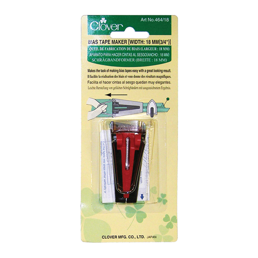 CLOVER 464/18 - Bias Tape Maker - 18mm (3/4)