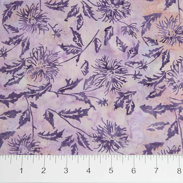 Banyan Batiks - Shattered Garden - 80001-81 - Purple Flowers