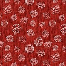 Jennifer Pugh Plaid for the Holidays Red Christmas Ornaments