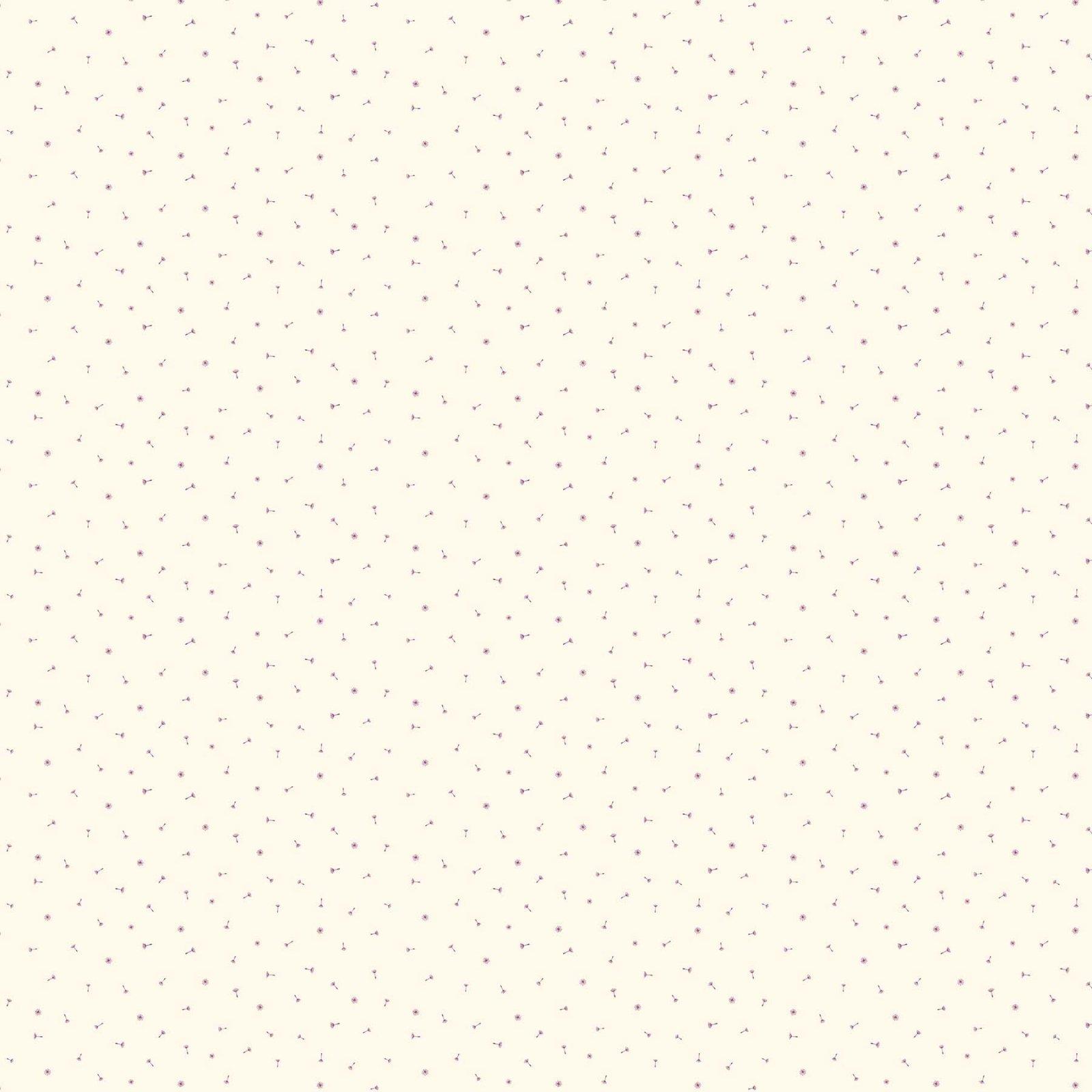 FIGO Fabrics - Mountain Meadows - Pink Dandilion on Pink - 90006-83