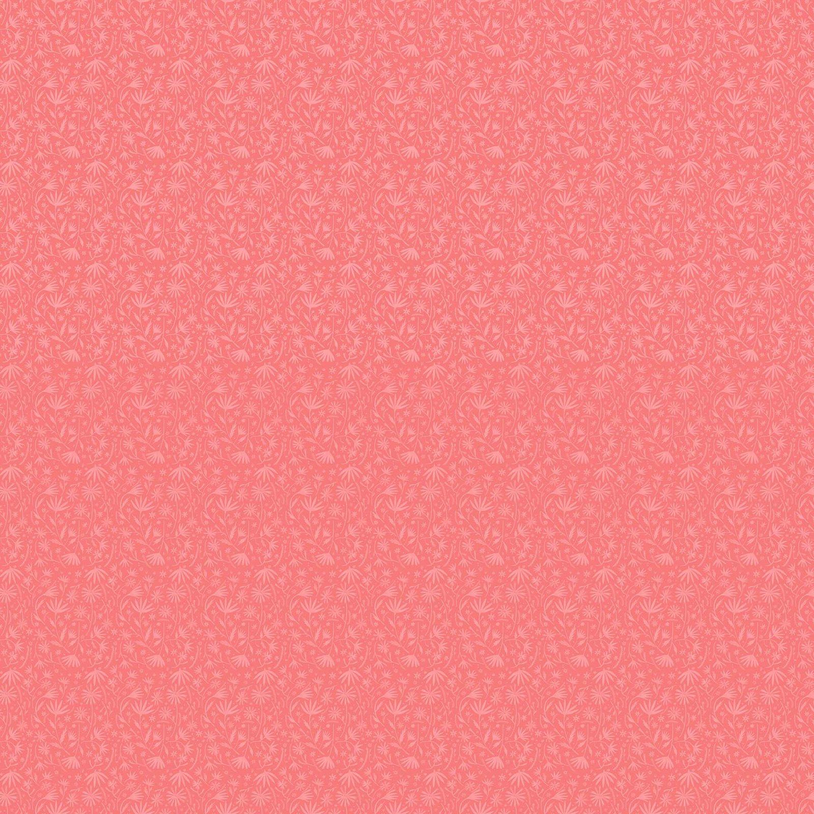 Abigail Halpin Eloise's Garden Pink tonal flower
