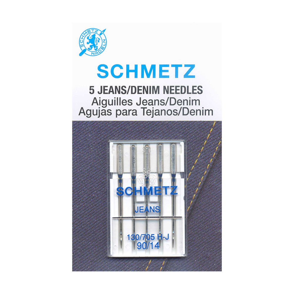 SCHMETZ Denim Needles Carded - 90/14 - 5 Pieces