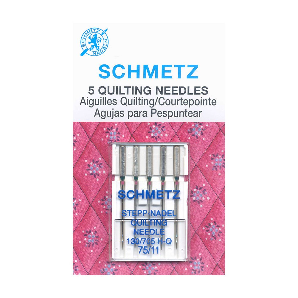 SCHMETZ Quilting Needles Carded - 75/11 - 5 Pieces
