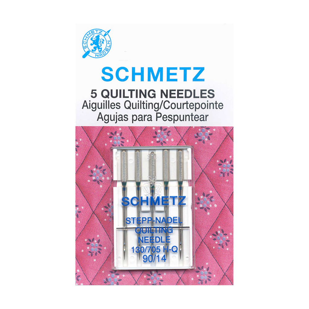 SCHMETZ Quilting Needles Carded - 90/14 - 5 Pieces