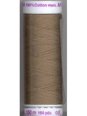 Metter Silk Finish Cotton -150m  lt. Brown