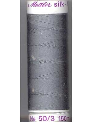 Metter Silk Finish Cotton - 150m Grey