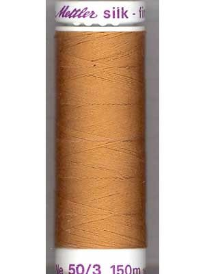 Mettler Silk-Finish 50wt Solid Cotton Thread 164yd/150M Bronze