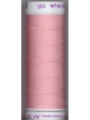 Metter Silk-Finish 50wt Solid Cotton Thread 164yd/150M Rose Quartz