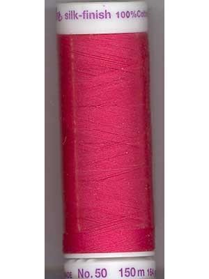 Metter Silk Finish Cotton - Dark Coral