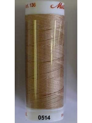 Mettler 100% Cotton -  457m Dark Tan