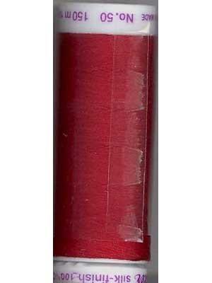 Mettler Silk-Finish - 150m Cherry Red
