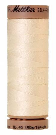 Mettler Silk-Finish 40wt Solid Cotton Thread 164yd/150M Muslin