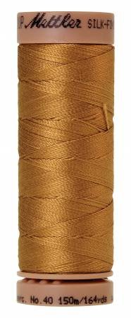 Mettler Silk-Finish 40wt Solid Cotton Thread 164yd/150M Palomino