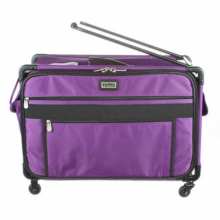 Tutto Machine Case On Wheels Extra Large 24in Purple