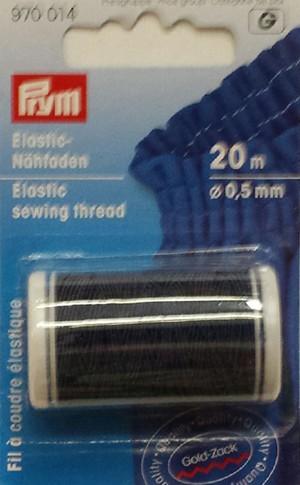 Elastic Thread - Navy 20M x .5mm