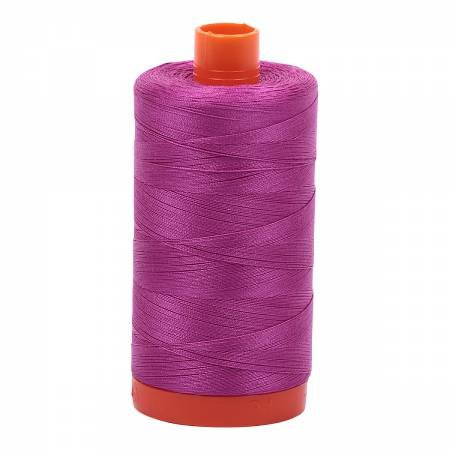 Mako Cotton Thread Solid 50wt 1300m Magenta