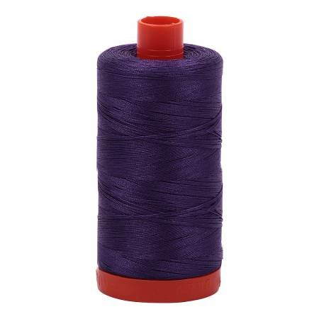 Mako Cotton Thread Solid 50wt 1422yds Dark Violet
