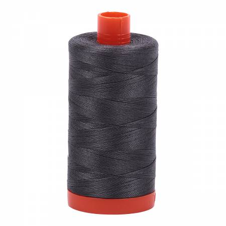 Mako Cotton Thread Solid 50wt 1422yds Pewter Grey