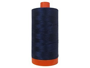 Aurifil Cotton Thread Solid 50wt 1422yds Dark Blue