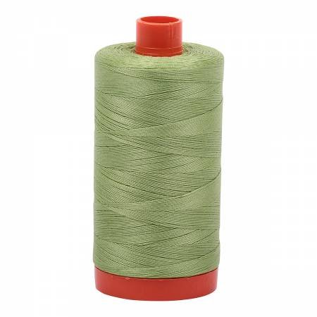 Mako Cotton Thread Solid 50wt 1422yds Light Fern