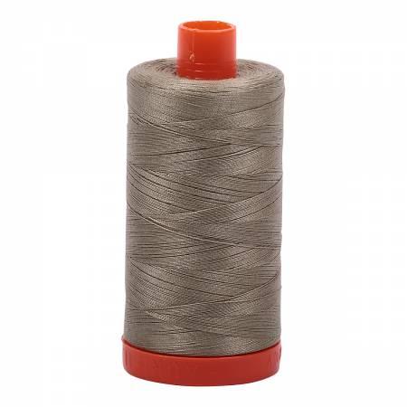 Mako Cotton Thread Solid 50wt 1422yds Light Khaki Green