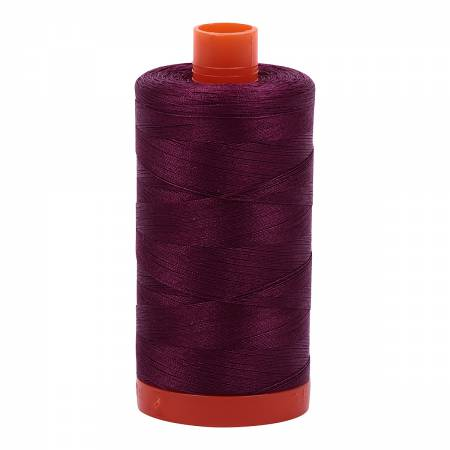 Mako Cotton Thread Solid 50wt 1422yds Plum