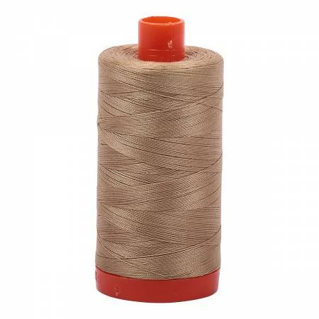 Mako Cotton Thread Solid 50wt 1422yds Blond Beige