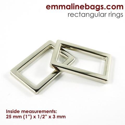 Emmaline Rectangle Ring 1