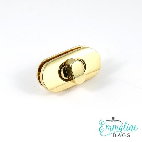 Emmaline Turnlock Gold