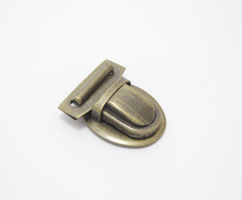 Emmaline Tongue Lock - Antique Brass