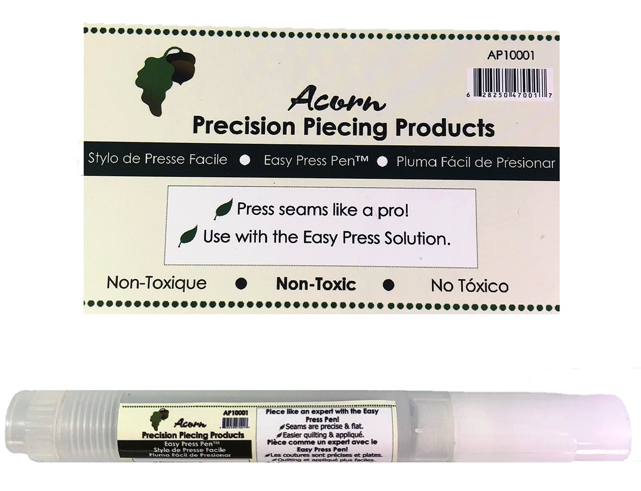 Acorn Precision Piecing Easy Press Pen