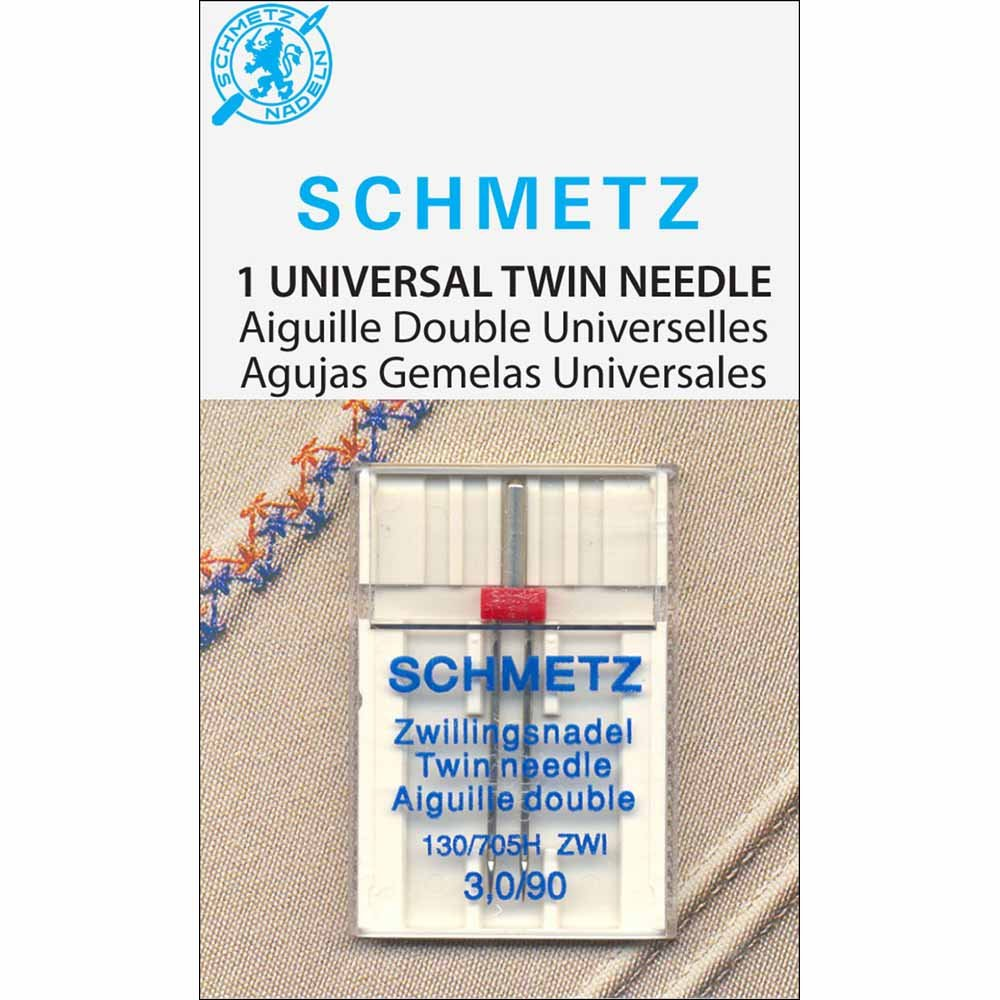 SCHMETZ #1770 Twin Needle Carded - 90/14 - 3.0mm - 1 count
