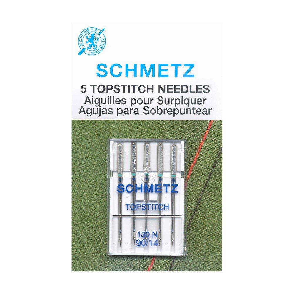 SCHMETZ Topstitch Needles Carded - 90/14 - 5 Pieces
